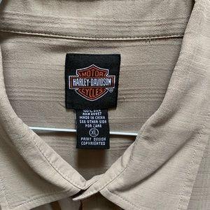 Men's Harley-Davidson Silk Shirt